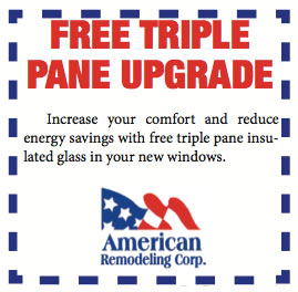 Free Triple Pane Upgrade